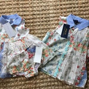 Matching Ralph Lauren girls outfits